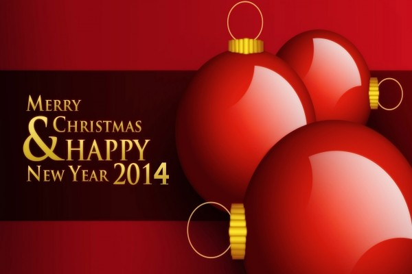 Feliz Navidad y Feliz Año Nuevo 2014