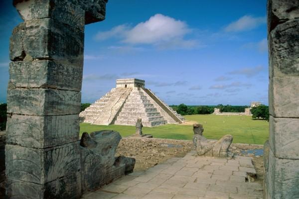 Ciudad prehispánica de Chichén Itzá, México