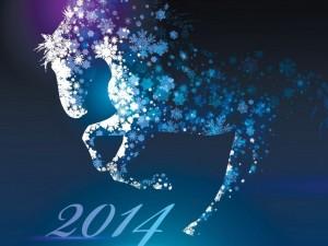 Postal: 2014, Año del Caballo