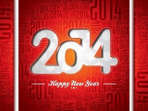 Postal: Feliz año 2014