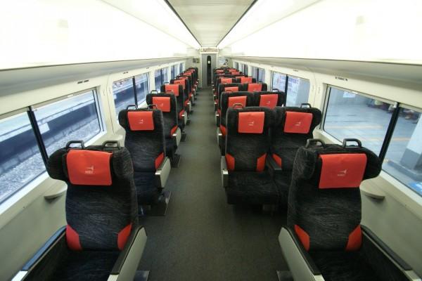Interior del Narita Express