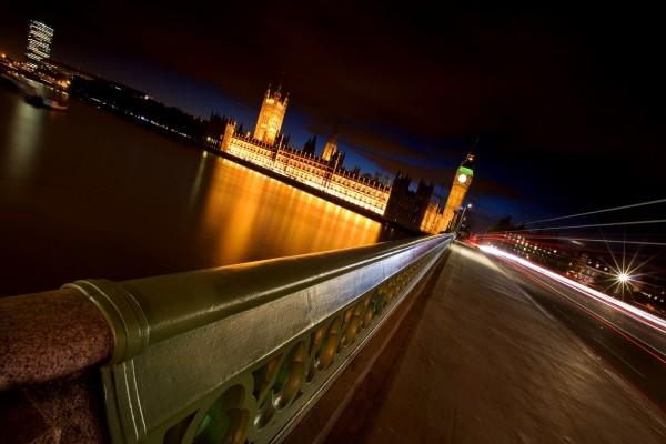 Paseo nocturno en Londres