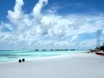 Playa en las Maldivas
