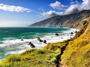 Postal: A orillas del mar