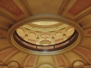 Postal: Interior del Capitolio de California