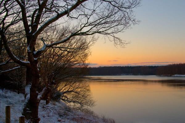 Frío en el lago