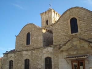 Postal: Iglesia de piedra