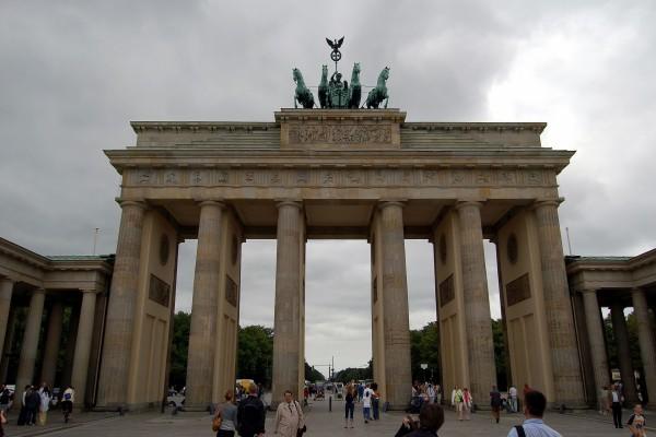 La Puerta de Brandeburgo, Alemania