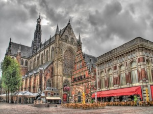 Plaza Grote Markt, en Haarlem