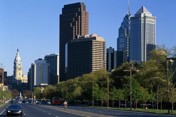 Carretera en Filadelfia