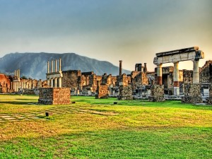 Pompeya, ciudad del Imperio Romano