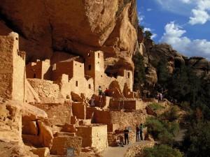 Visita al Cliff Palace en el parque nacional Mesa Verde, Colorado