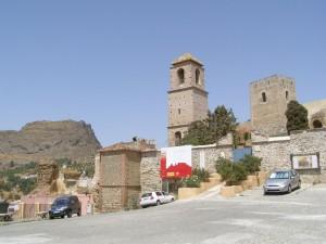 Postal: Álora, castillo árabe