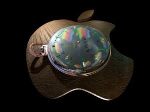 Postal: Reloj Apple