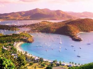 Postal: Isla Antigua