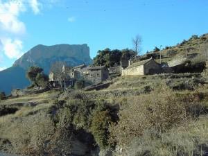 Postal: Cortalabiña, en el Valle de Tella, Huesca, España