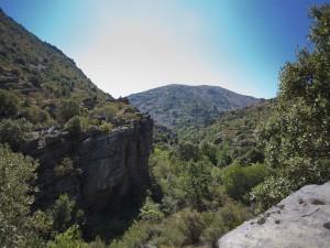 Postal: Quebrada de Morana (España)