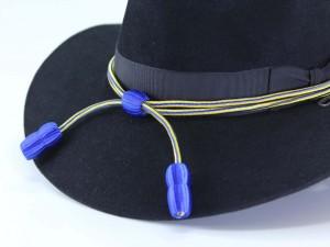 Postal: Sombrero azul