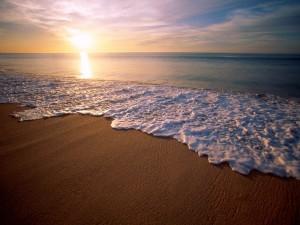 Playa en Baja California, México