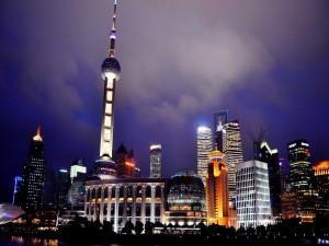 Luces en Shanghai