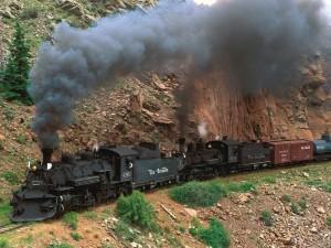 Postal: Locomotora Rio Grande