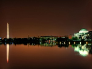 Postal: Noche en Washington D.C.