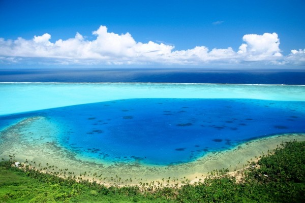 Bora Bora, Océano Pacífico