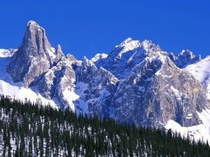 Postal: Montañas de la cordillera de Brooks, Alaska