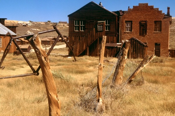 El pueblo fantasma de Bodie, California