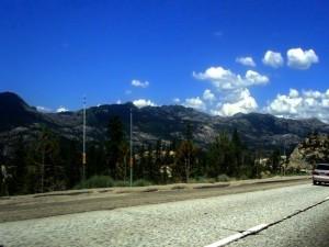 Carretera agrietada