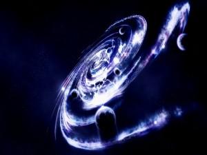 Galaxia vista de cerca
