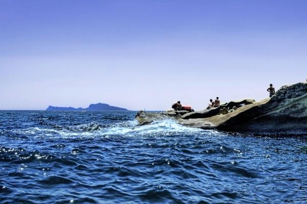 Un chapuzón en el mar