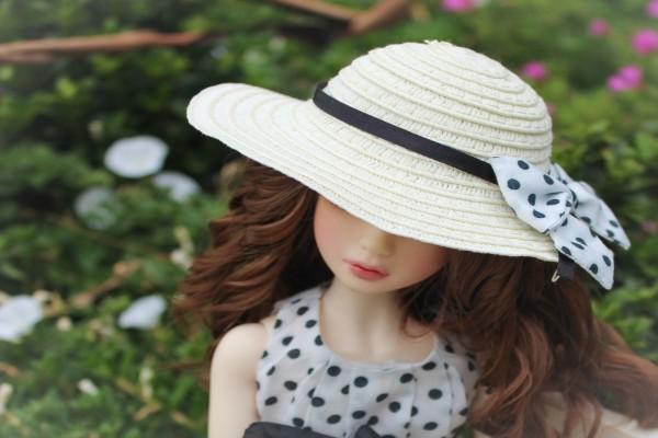 Barbie con sombrero
