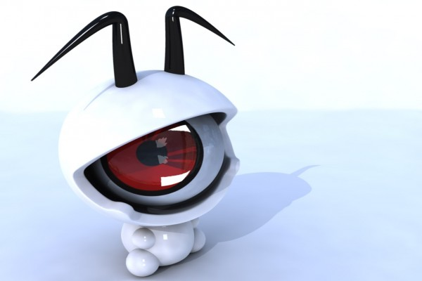 Un pequeño extraterrestre