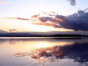Un lago en Vancouver