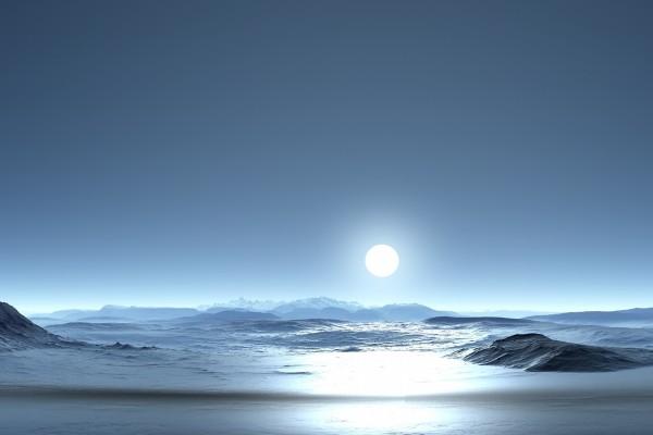 La luz de la luna llena