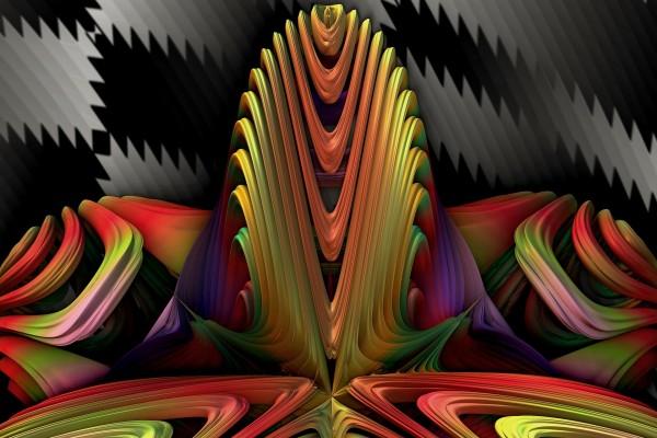 Color y formas en 3D