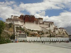 Palacio Potala, residencia del Dalái Lama