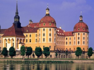 Postal: Castillo Moritzburg, Sajonia