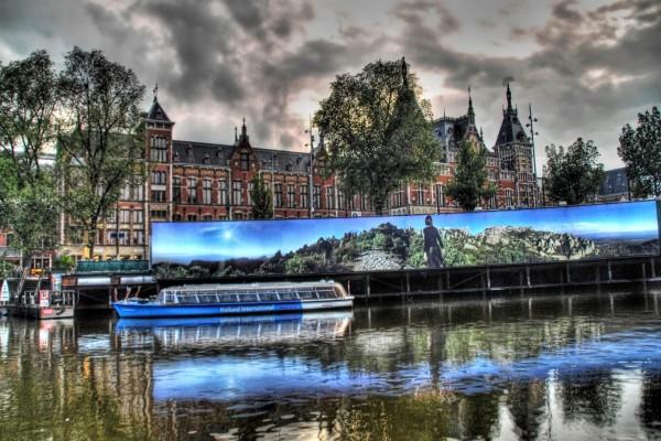Barco en Holanda