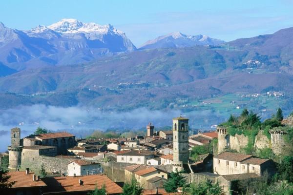 Castiglione di Garfagnana en la Toscana