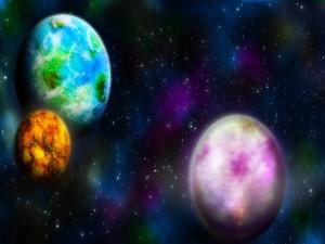 Postal: Los colores de los planetas
