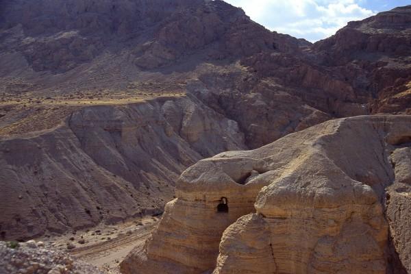 Cuevas cercanas a Qumrán, Israel