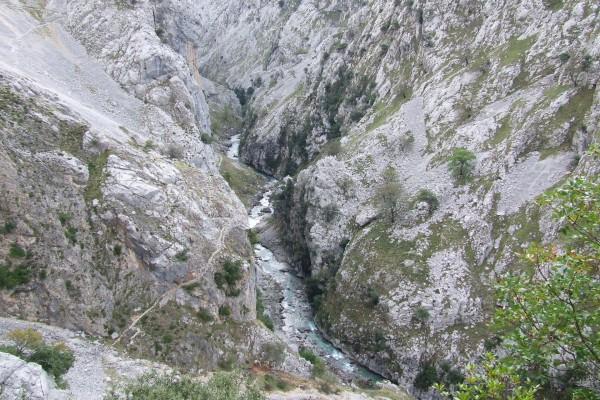 El río Cares (Asturias - León)