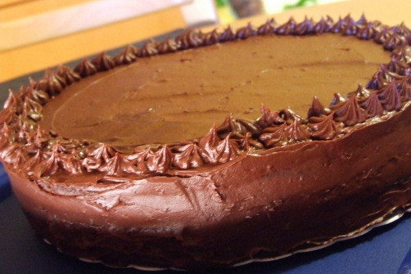 Deliciosa tarta de chocolate