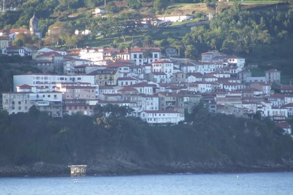 La villa de Lastres, Asturias