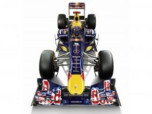 Postal: Coche F1 Red Bull