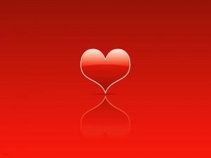 Corazón para enviar el día de San Valentín
