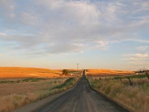 Postal: Larga carretera