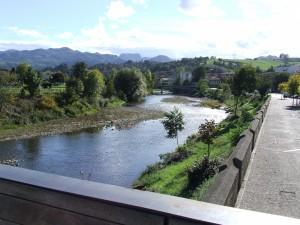 Postal: Río Sella en Arriondas (Asturias)